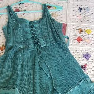 apec Dresses - Western style dress Teal